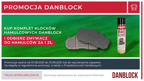 Zmywacz do hamulców za złotówkę w promocji Danblock