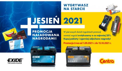 Akumulatory Exide w sprzedaży premiowej