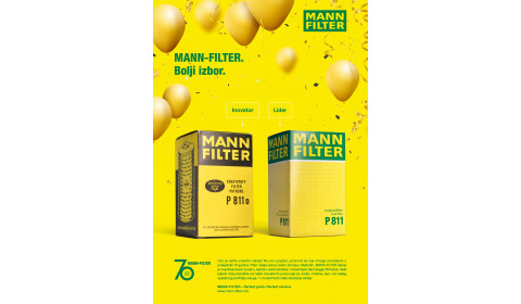 MANN-FILTER slavi 70-ti rođendan:  Ponosni na svaku boru