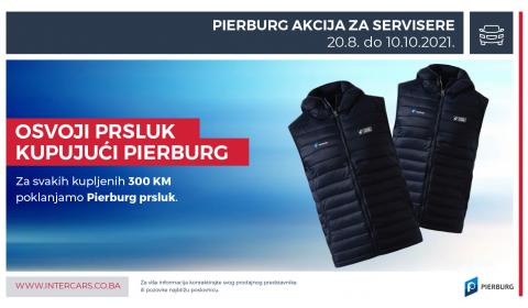 Osvoji prsluk kupujući PIERBURG