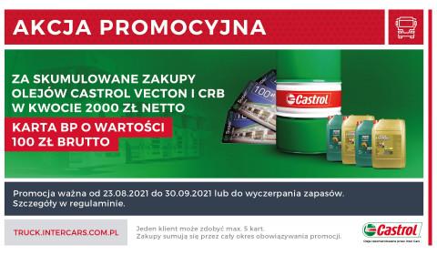 Promocja na Oleje Castrol z linii VECTON i CRB