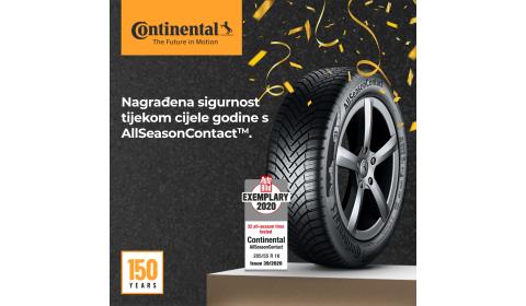 Continental AllSeasonContactTM: Najbolje rješenje za sva godišnja doba
