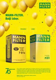 MANN FILTER slavi 70-ti rođendan!