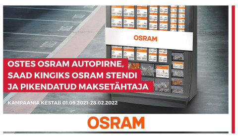 OSRAM autopirnide kampaania