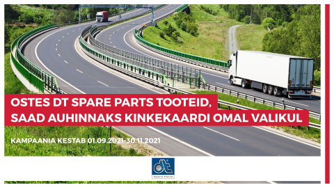DT Spare Parts kampaania