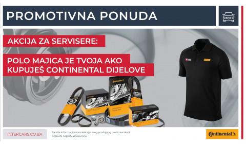 Biraj Continental proizvode i osvoji POLO majicu!