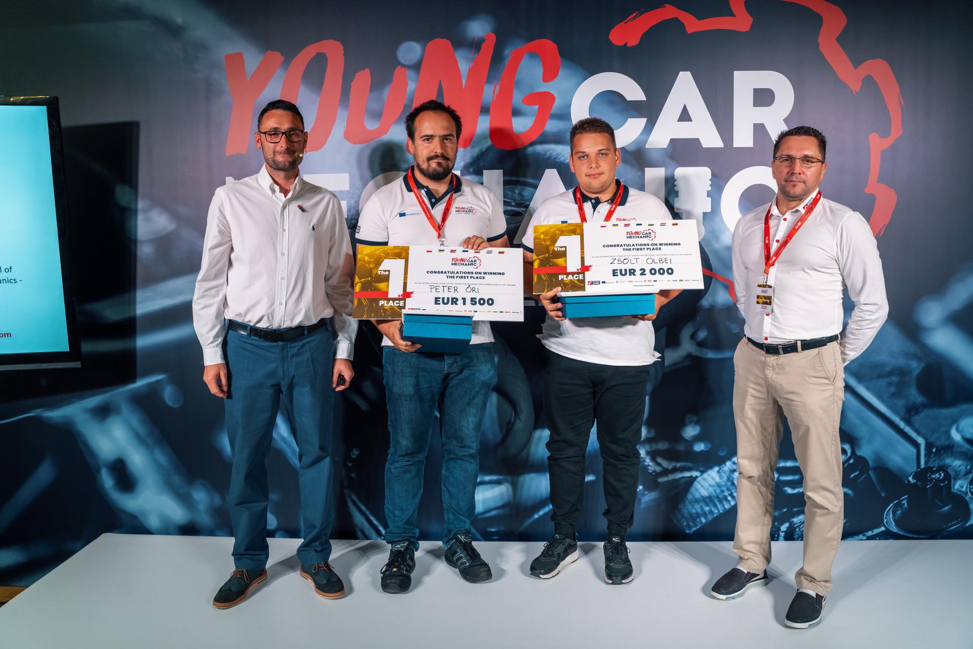 2021 m. jaunojo automechaniko titulas atiteko Vengrijos atstovui Zsoltui Ölbei