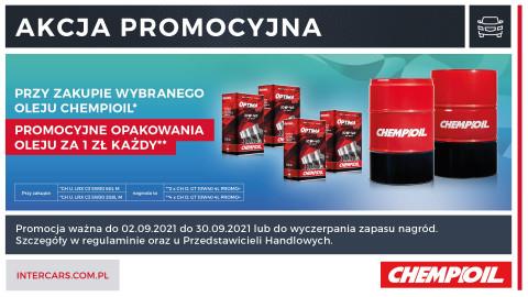 Promocja na oleje ChempiOil