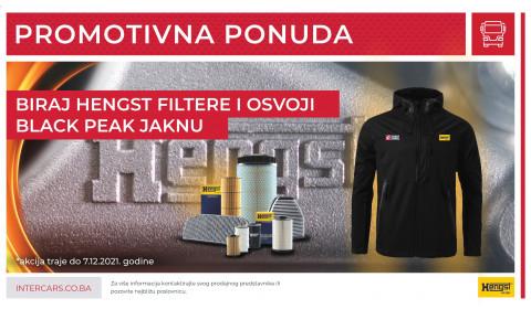 Biraj HENGST filtere i osvoji BLACK PEAK jaknu