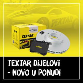 Textar - novi brend u ponudi kočionih dijelova za osobna vozila