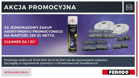 Zdobądź brake cleaner za 1 zł w nowej promocji FERODO