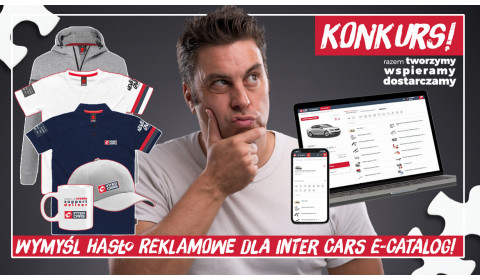 Konkurs – wymyśl hasło reklamowe dla Inter Cars e-Catalog!
