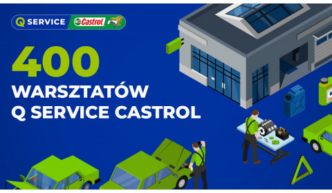 Q Service Castrol razy 400!