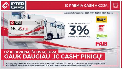 LKW IC PREMIA CASH akcija