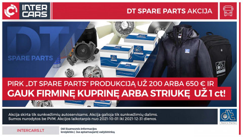 """DT Spare Parts"" akcija"