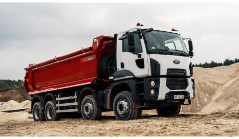 Ford Trucks Polska rozwija się w budowlance