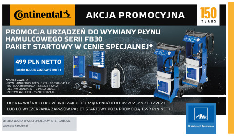 Pakiet do wymiany płynu hamulcowego w promocyjnej cenie