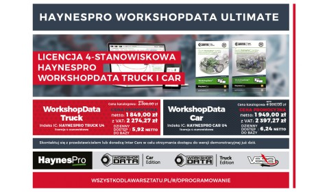 Promocja HaynesPro WorkshopData