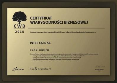 Wiarygodność potwierdzona certyfikatem