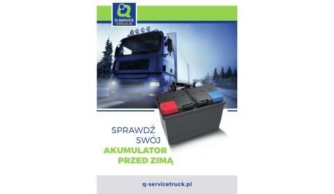 Akcje promocyjne w Q-Service Truck